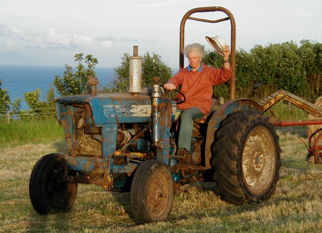 Farmer Joe Roskilly, 1931 - 2014, Founder of Roskillys