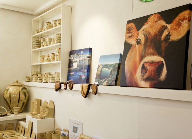 The Gallery in the Bull Pen Shop.