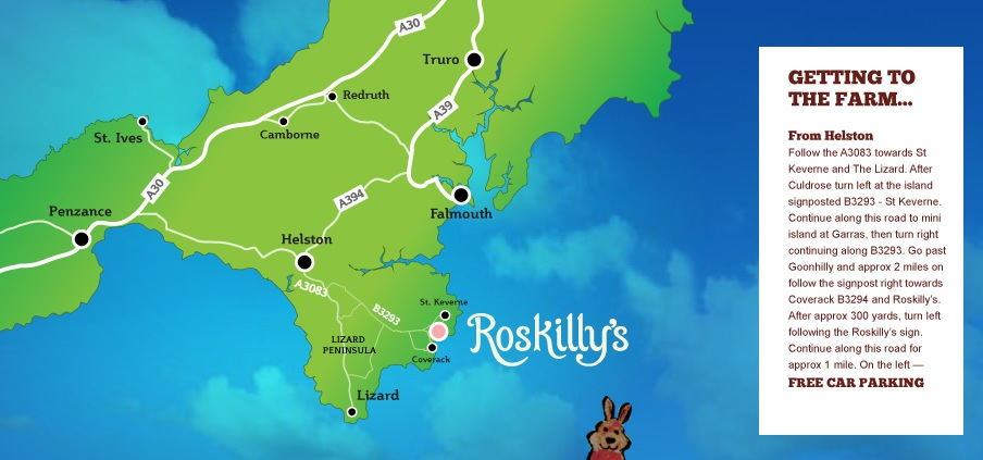 Roskillys Map