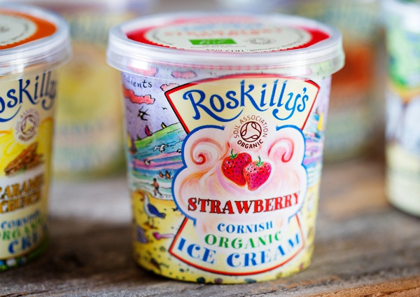 Roskilly's Organic 120ml Strawberry