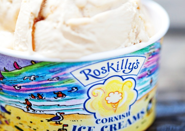Roskilly's ice cream tub