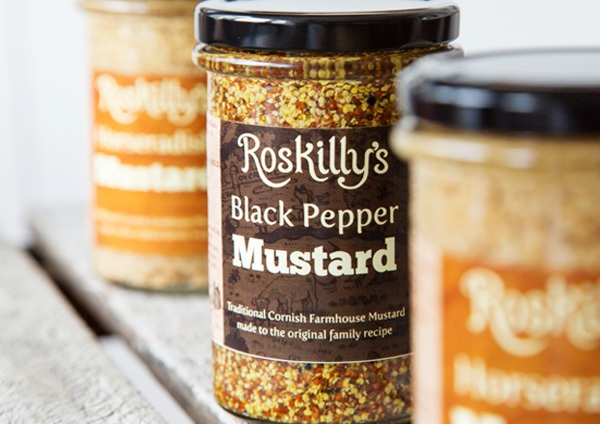 Roskilly's shop Relish, Chutneys, Jams, Marmalades, Mustards and more