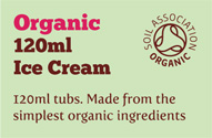 120ml Organic Ice Cream